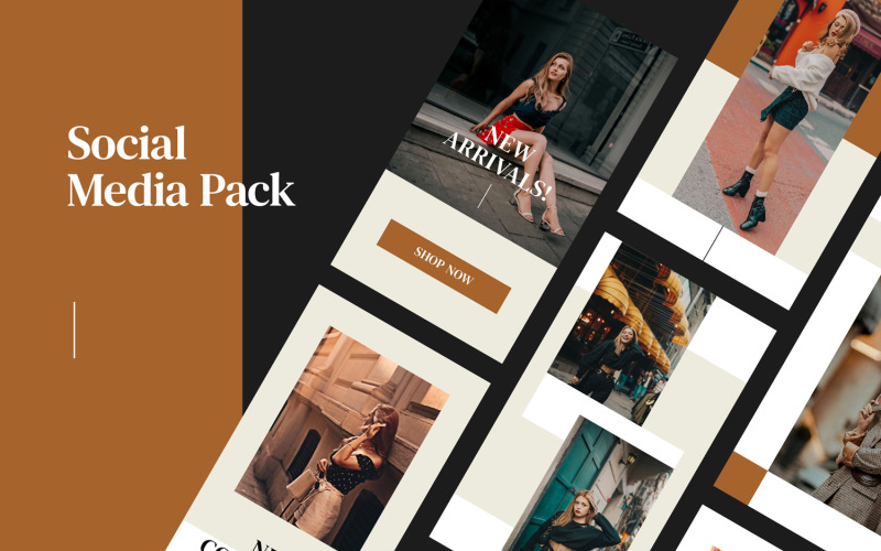 Beige Pack Social Media Template