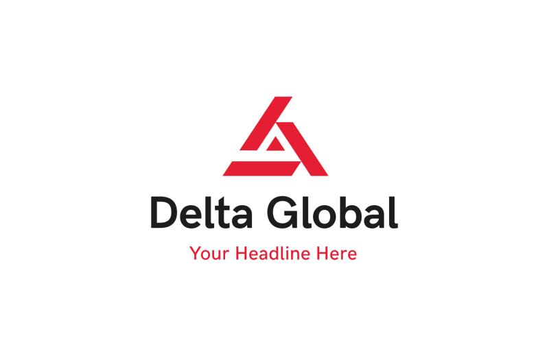 Delta Global Logo Template