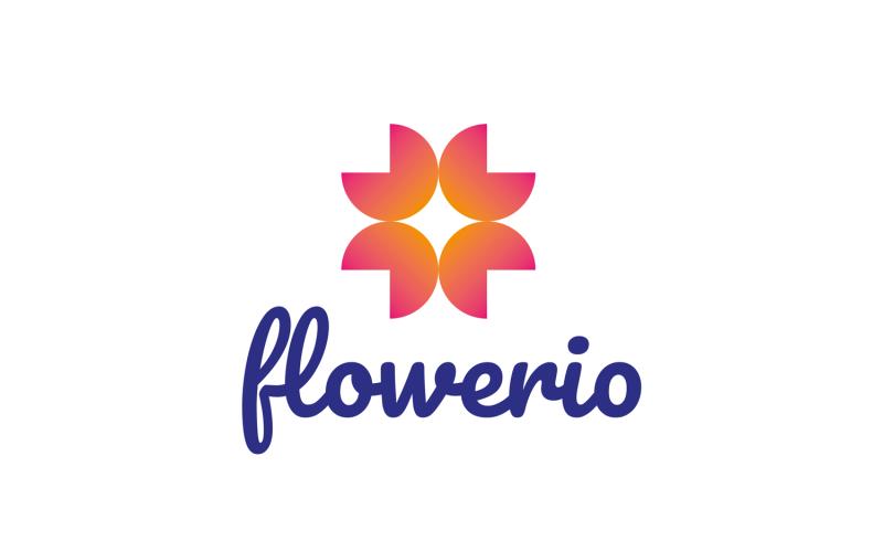 Flowerio Logo Template