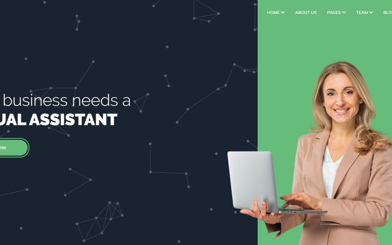 VIRA - тема WordPress для виртуального помощника