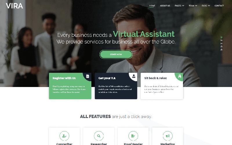 VIRA Website Template