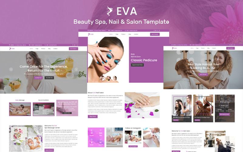EVA- Beauty Spa, Nail & Salon Muse Template