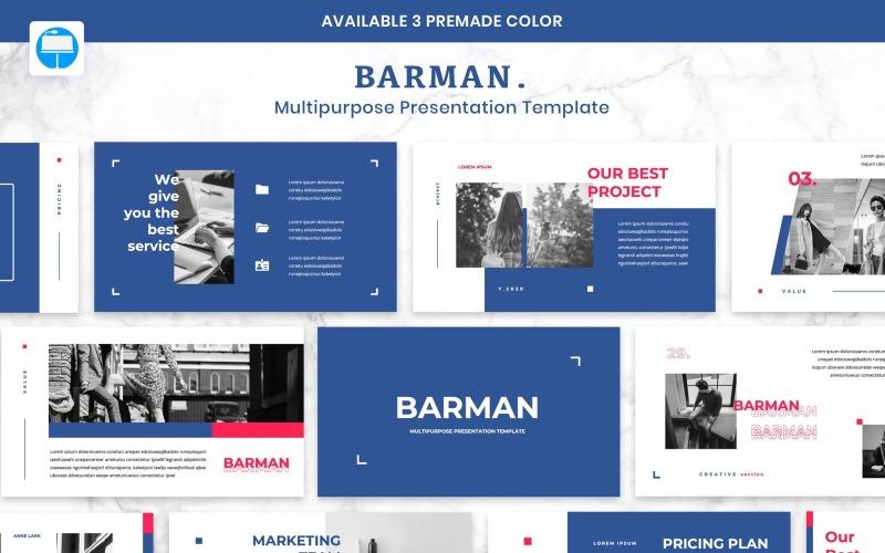 BARMAN - Creative Business - Keynote template