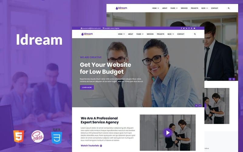 Idream - Multipurpose Responsive HTML Website Template