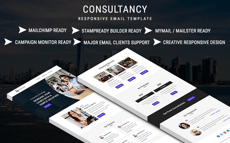 Consultancy – Email Newsletter Template