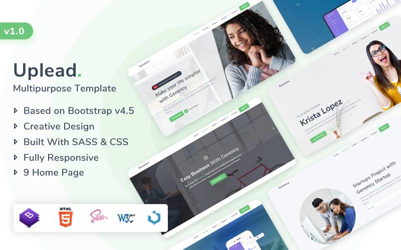 Uplead - Multipurpose Website Template