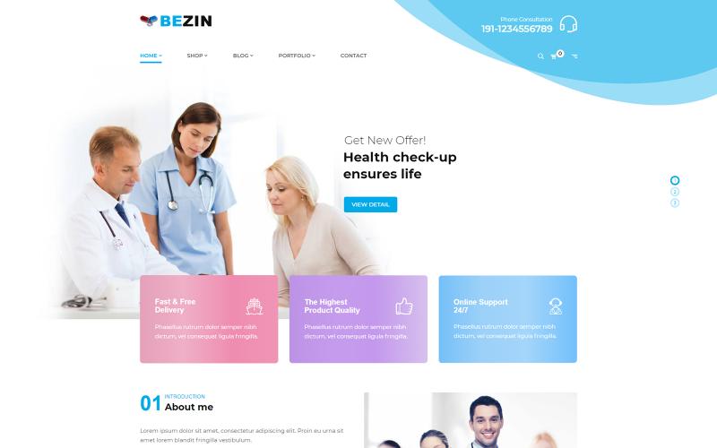 Bezyn - Thème Shopify Pharmacie et Santé