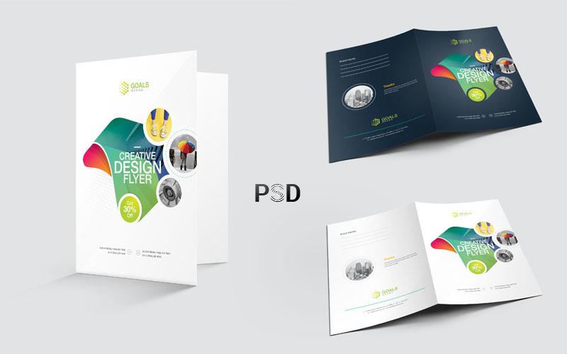 Bright Color Presentation Folder - Corporate Identity Template