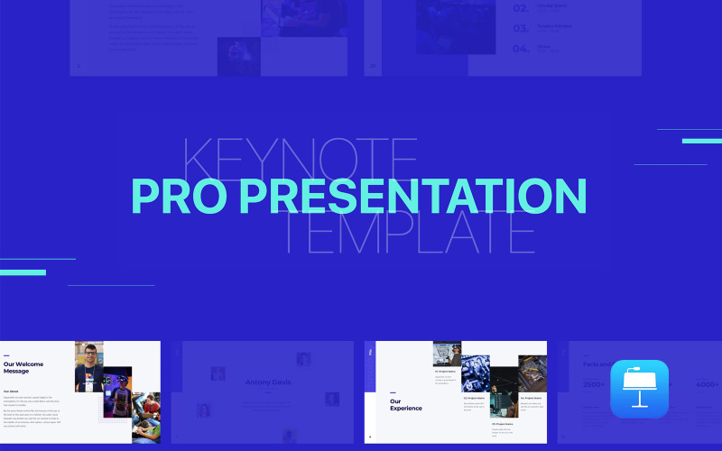 Pro Presentation - Animated - Keynote template