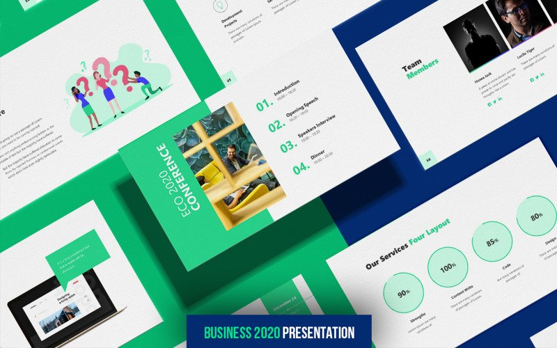 Business 2020 - Animated - Keynote template