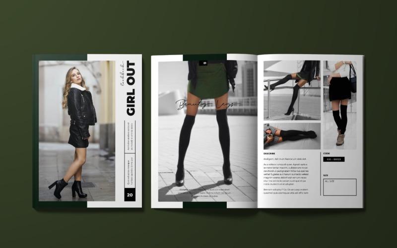 Women Fashion Magazine Template