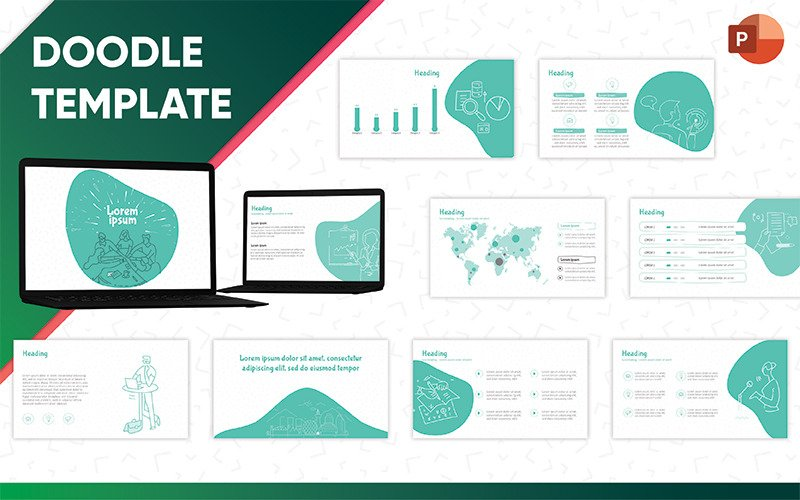 Doodle PowerPoint template