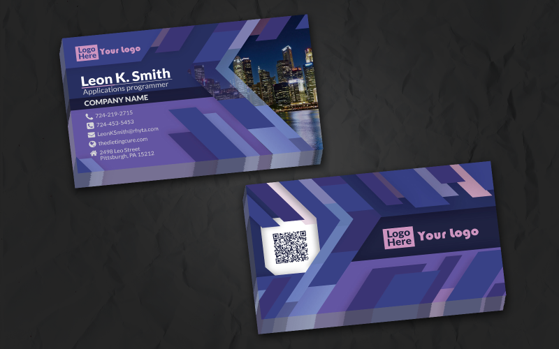 Polyline Namecard - Corporate Identity Template