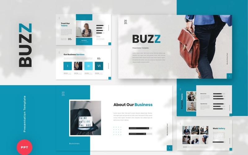 Buzz - Business PowerPoint Template