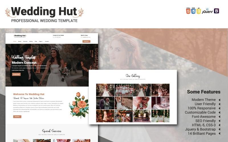 Wedding Hut Website Template