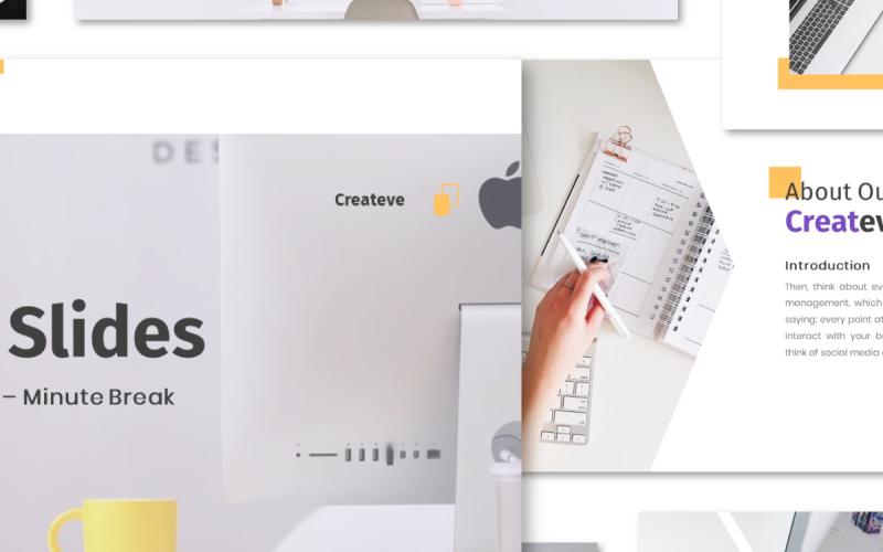 Createve Business - Keynote template