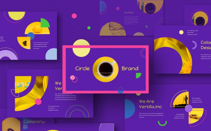 Circle Brand - Keynote template