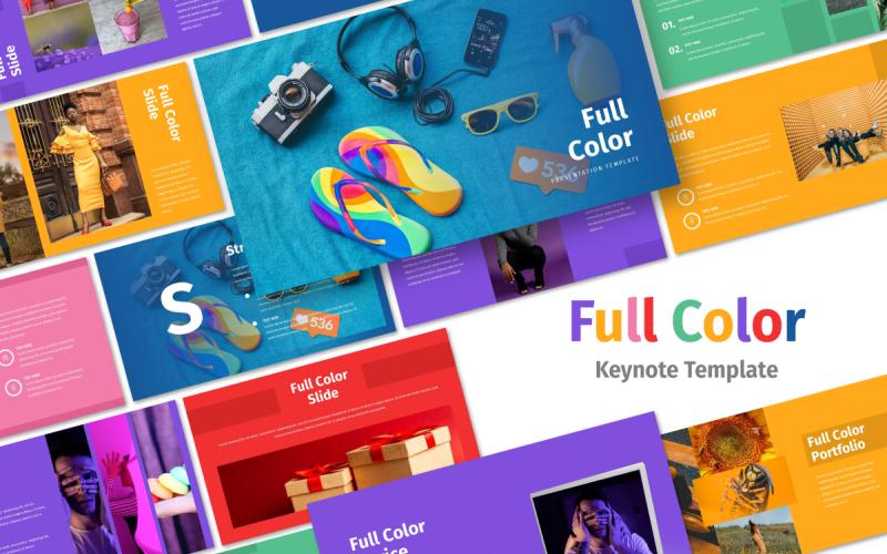Full Color - Multipurpose - Keynote template