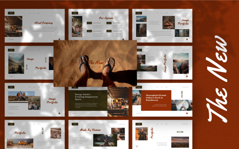 The New - Keynote template