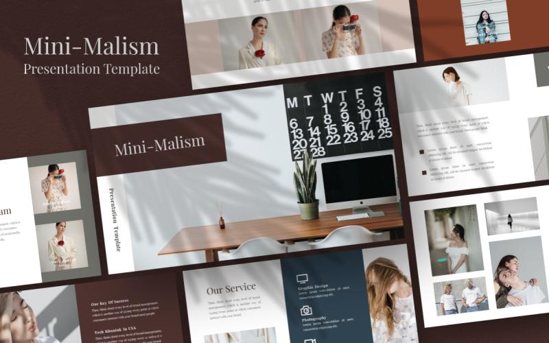 Modèle PowerPoint polyvalent de mini-malisme