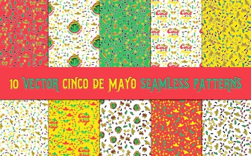 Cinco De Mayo  s Set Pattern