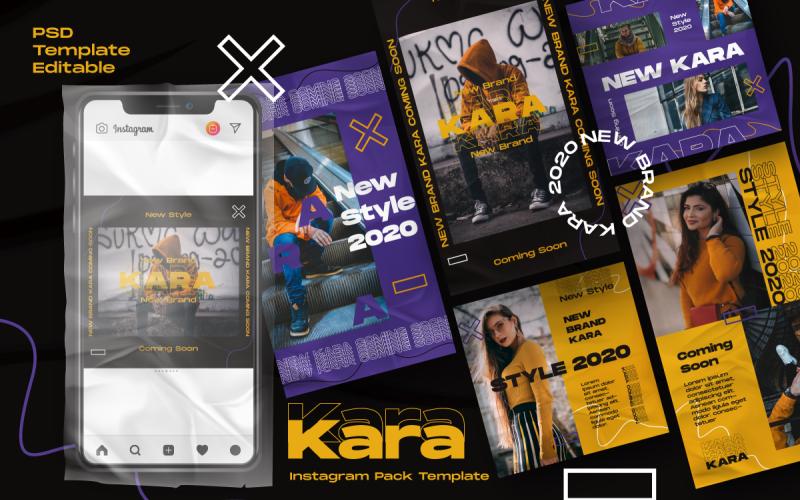 Kara Story & Feed Instagram Template for Social Media