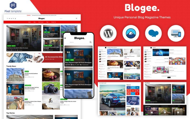 Blogee - Multi-Concept Blog & News WordPress Theme