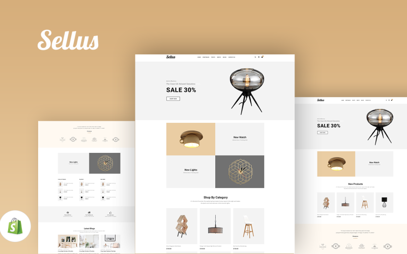 Gts Sellus - Multipurpose Sections Shopify Theme