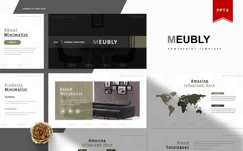Meubly   PowerPoint Template
