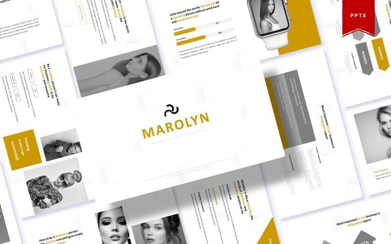 Marolyn | PowerPoint Template