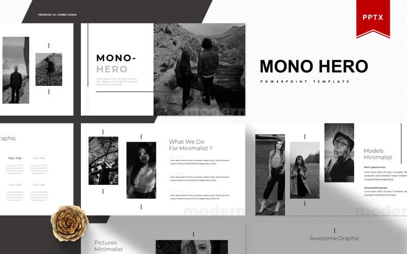 Mono Hero | PowerPoint Template