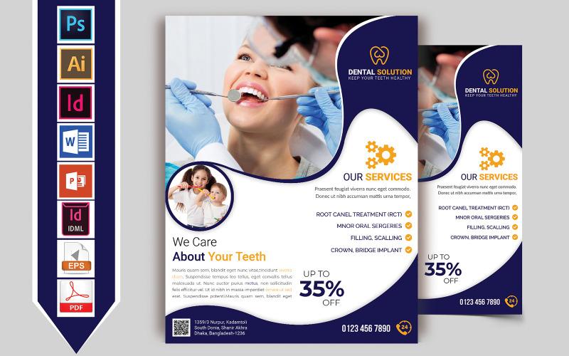 Dental Flyer Vol-01 - Plantilla de identidad corporativa