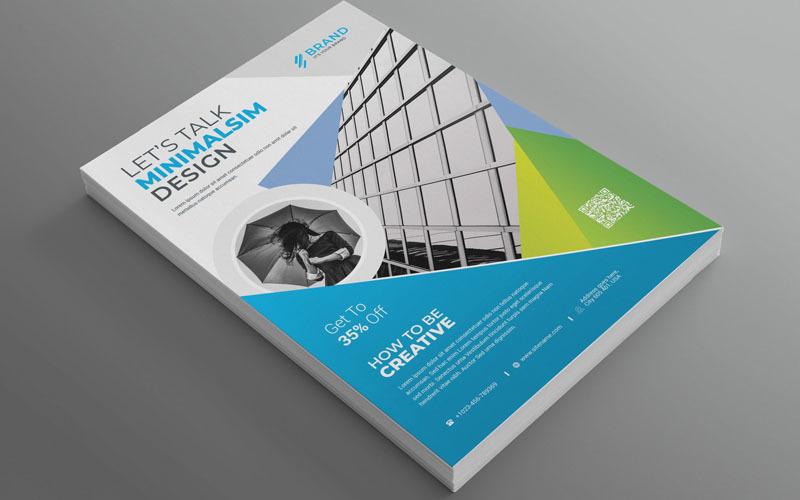 Marca - Mejor folleto comercial CreativeMinimalsim Vol_78