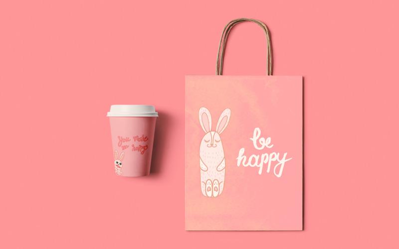 Be Happy - Plantilla de identidad corporativa