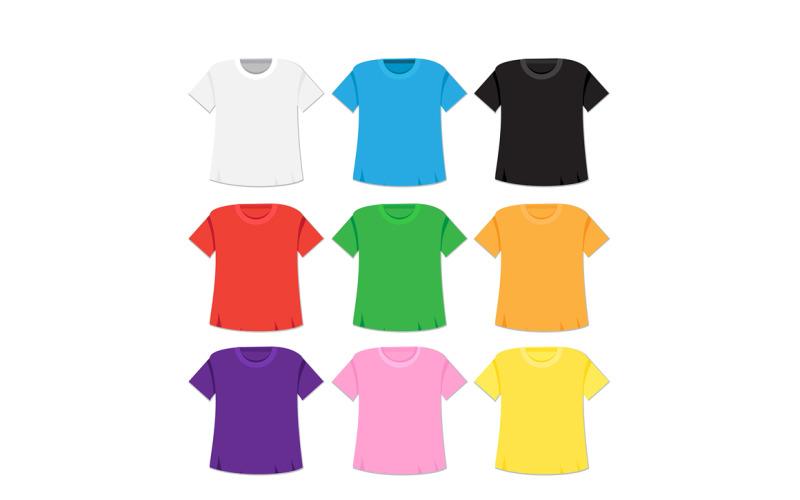 Cartoon T-shirt Mockup - Corporate Identity Template