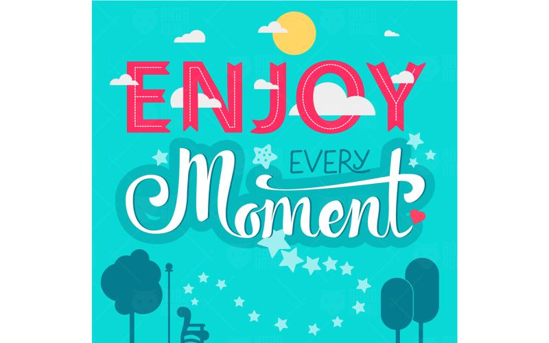 Enjoy Every Moment - Plantilla de identidad corporativa