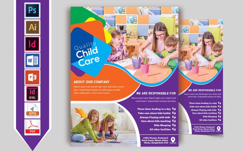 Baby Care Flyer Vol-01 - Plantilla de identidad corporativa