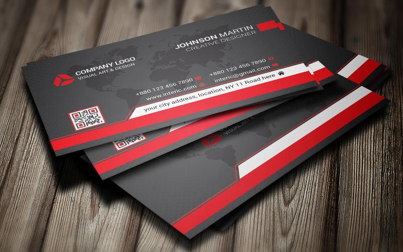 Creative BusinessCard - Plantilla de identidad corporativa