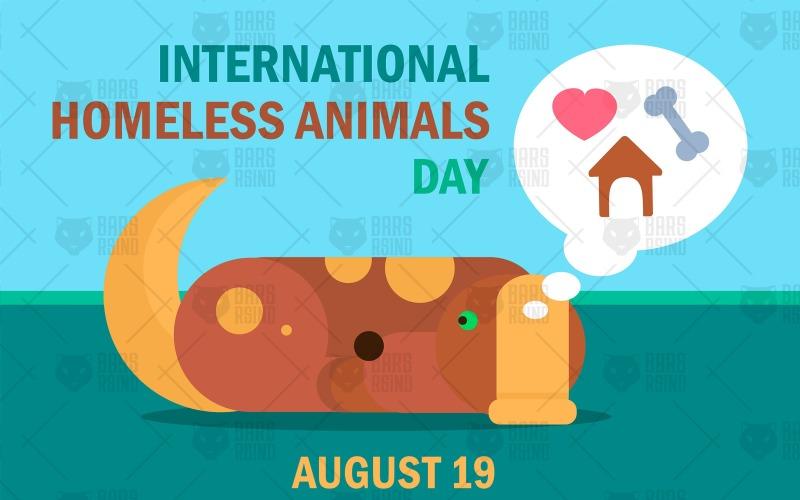 Día Internacional de los Animales sin Hogar - Plantilla de Identidad Corporativa