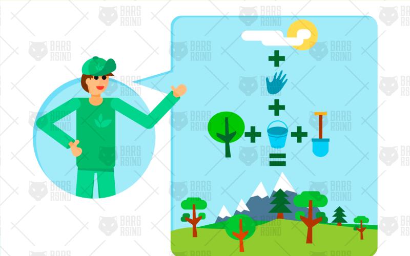 Eco Activity - Plantilla de identidad corporativa