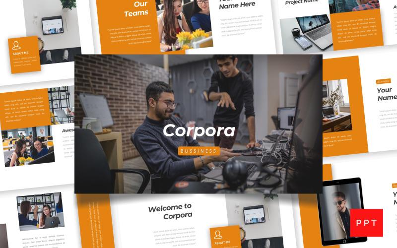 Corpora - Negocios Plantillas de Presentaciones PowerPoint