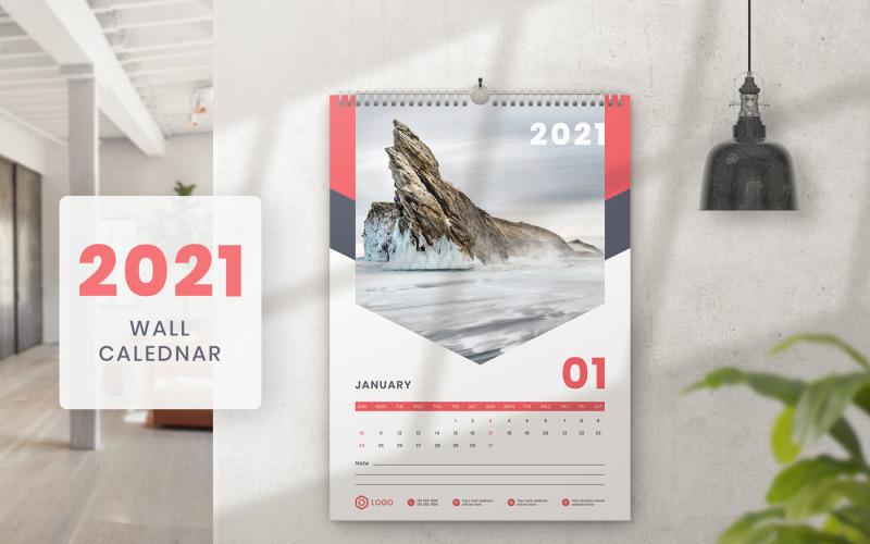 Wall Calendar 2021 Planner