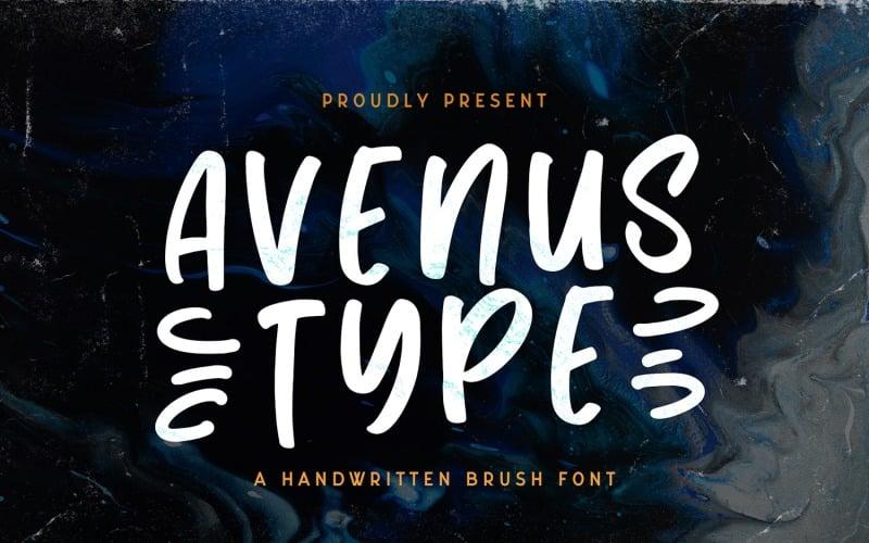 Avenus Type - Fuente de visualización peculiar
