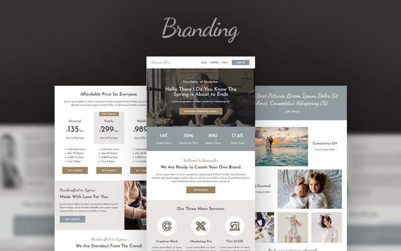 Branding - Creative Agency Email Newsletter Template