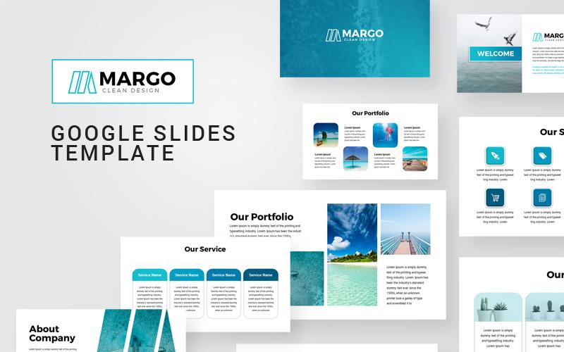 Plantilla de presentación moderna de Margo Presentaciones de Google
