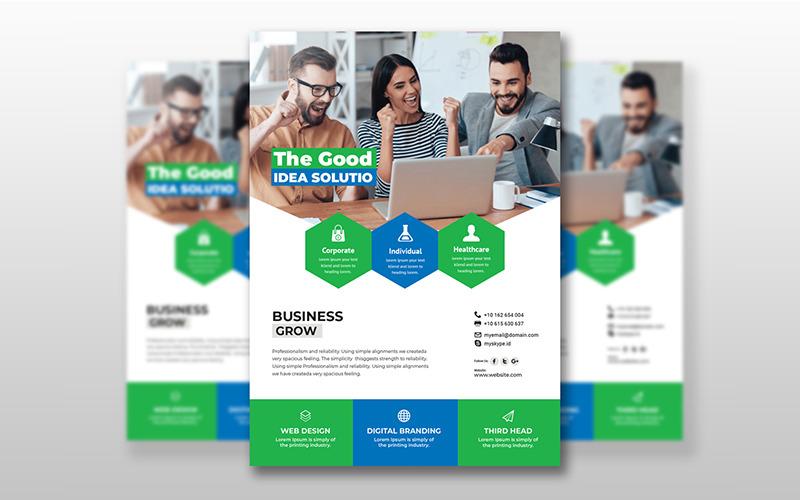 Folleto de negocios creativos - Plantilla de identidad corporativa