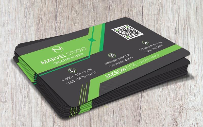 Marvel Business Card - Plantilla de identidad corporativa