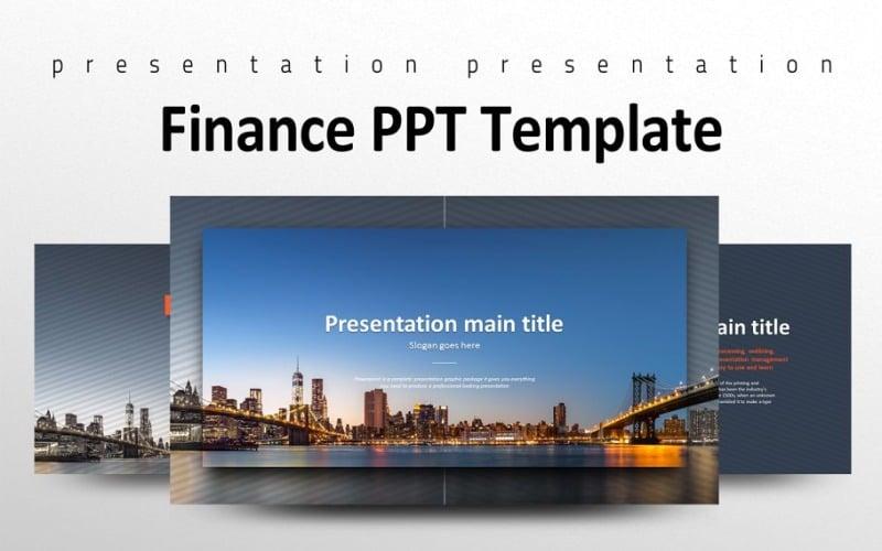 Plantilla de PowerPoint Finanzas PPT