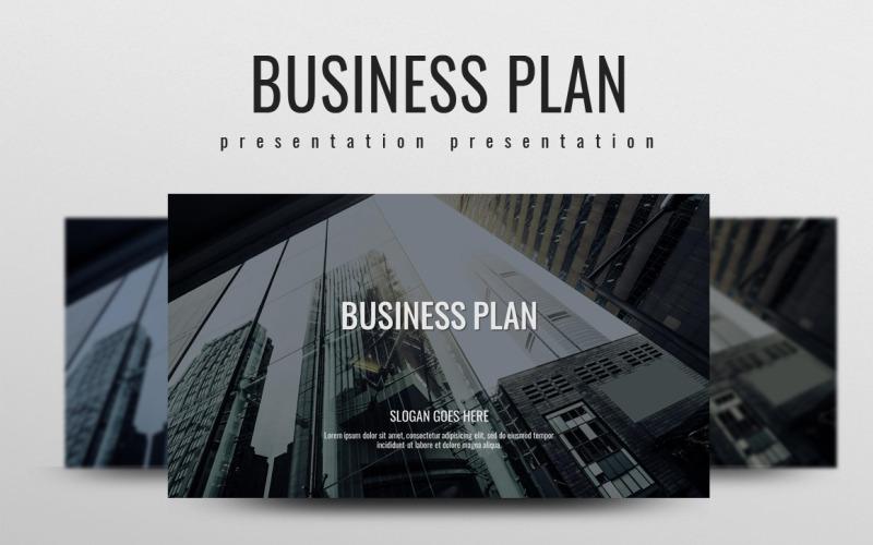 Plantilla de PowerPoint - plan de negocios