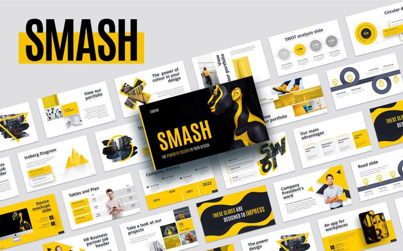 Smash Animated - Plantilla de Keynote
